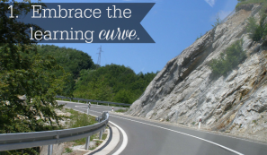 1 - embrace learning curve